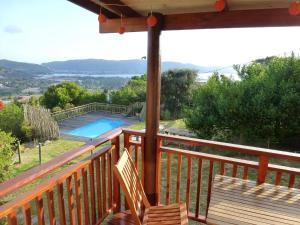 A view of the pool at Panorama Lodge or nearby