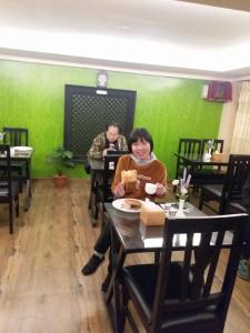 A restaurant or other place to eat at Hotel Malla Inn