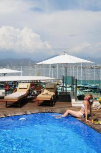 The swimming pool at or near Alesta Yacht Hotel