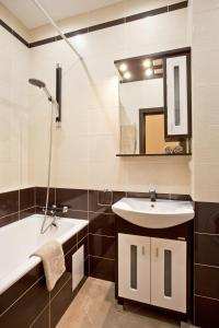 A bathroom at Moscow Suites Apartments Tverskaya