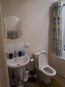 A bathroom at Homely and enjoyable Holiday home