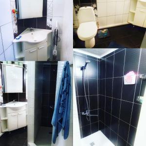 Ванная комната в В гостях у моря