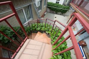 A balcony or terrace at Guest house Solnechnaya 7