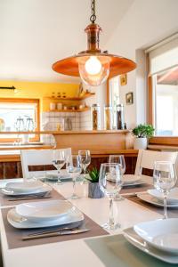 Restaurace v ubytování Apartman Skroza
