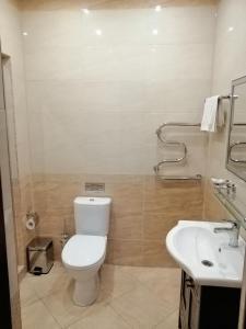 A bathroom at Hotel Fenix