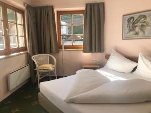 Ein Bett oder Betten in einem Zimmer der Unterkunft Appartement Posthäusl