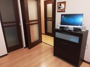 A television and/or entertainment center at Brooklyn Apartments