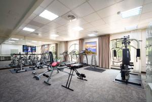 The fitness center and/or fitness facilities at Royal Chiayi Hotel