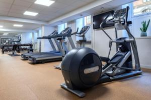 Das Fitnesscenter und/oder die Fitnesseinrichtungen in der Unterkunft Hotel Mayfair