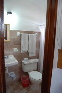 A bathroom at Hotel Alux Cancun