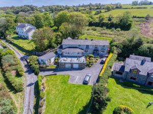 A bird's-eye view of Shearwater Country House B&B