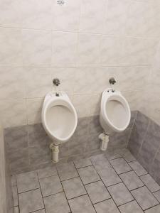 A bathroom at Hostel Sinkule