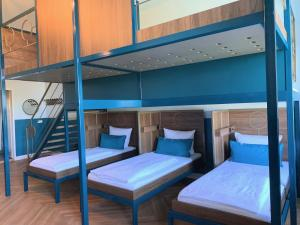 A bunk bed or bunk beds in a room at Grand Hostel Berlin Classic