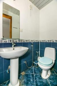 Um banheiro em Sadik Akhundovoy Apartment