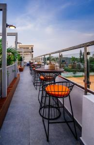 A balcony or terrace at Southern Star,Bangalore