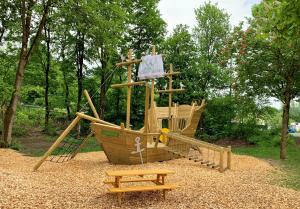 Children's play area at WAGNERS Hotel im Frankenwald