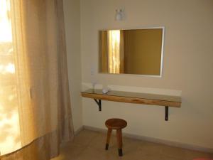 A bathroom at Athina Apartments
