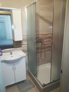 A bathroom at Apartments Nediljko & Mila