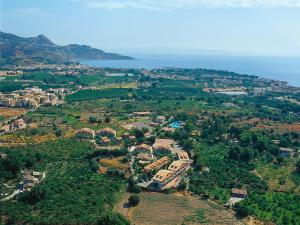 A bird's-eye view of Villaggio Alkantara