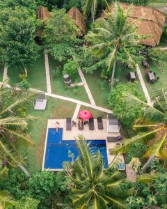 A bird's-eye view of Namaste Bungalows