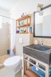 Um banheiro em Marazul Dive Resort