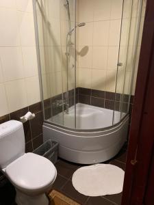 Ванная комната в Гостиница Сиреневая