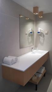 A bathroom at Hospedaria Frangaria