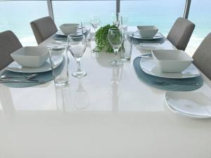 A restaurant or other place to eat at Air on Broadbeach