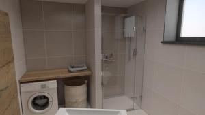 Koupelna v ubytování Nerudovka apartment