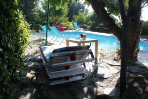 Piscina en o cerca de Apartamentos Rurales la Solana