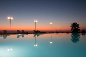 The swimming pool at or near Hotel Limenari