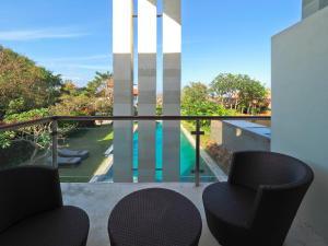A balcony or terrace at The Samata