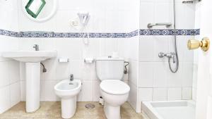 Een badkamer bij Las Faluas