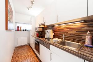 Küche/Küchenzeile in der Unterkunft Easyapartments Central Business