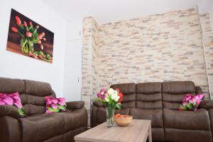 Część wypoczynkowa w obiekcie Tulip-Apartaments Calle la Lecha