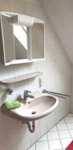 Ein Badezimmer in der Unterkunft Holiday Rügen Putbus