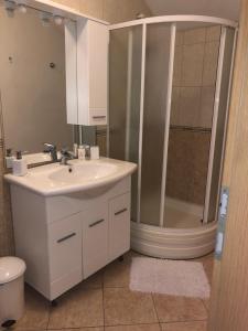 Łazienka w obiekcie Korda