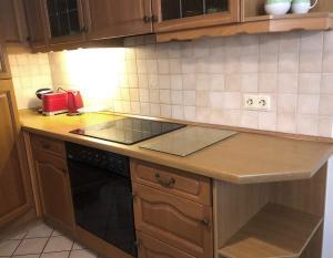 Küche/Küchenzeile in der Unterkunft Holiday Rügen Putbus