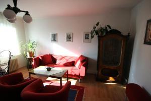 Posezení v ubytování Penzion Eva Krnov