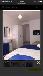 Letto o letti in una camera di White and Blue Bodrum