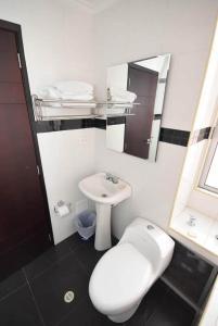 Un baño de HOTEL ZAFIRO PLAZA