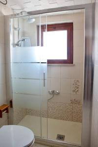 A bathroom at De Amicis Apartment