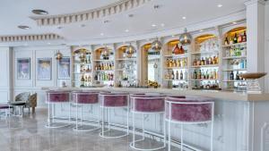 Loungen eller baren på Boutique Hotel B51