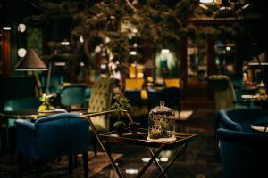 Restaurant ou autre lieu de restauration dans l'établissement Radisson Blu Carlton Hotel, Bratislava
