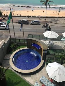 A view of the pool at Golden Park Recife Boa Viagem or nearby