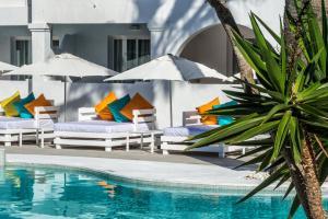 Het zwembad bij of vlak bij Hotel Playasol Bossa Flow