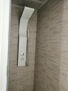 A bathroom at Hotel de Normandie