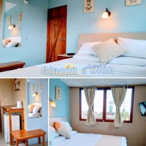 Cama o camas de una habitación en Rincón d'Olón Boutique Hotel