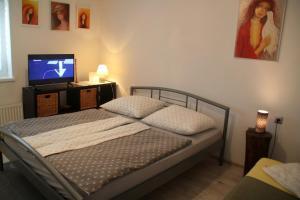 Posteľ alebo postele v izbe v ubytovaní Big Garden House
