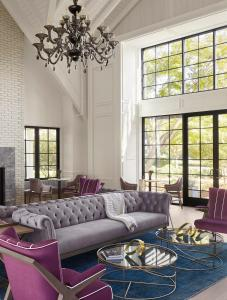 A seating area at Vintage House at The Estate Yountville